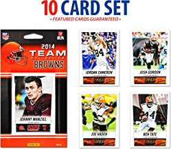 2014 Cleveland Browns Score Team Set of 10 Cards - Football Team Sets