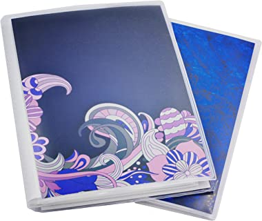 5 x 7 Photo Albums Pack of 2, Each Photo Album Holds Up to 48 5x7 Photos. Flexible, Removable Covers Come in Random, Assorted Patterns and Colors.