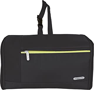 Travelon Flat-Out Toiletry Kit, Black, One Size