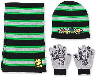 ninja turtle winter hat and gloves