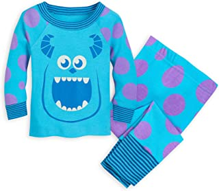 Disney Sulley Pajama Set for Baby - Monsters, Inc Size 9-12 MO Multi