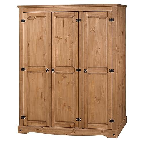 Pine Wardrobes Amazon Co Uk
