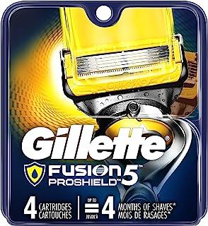 Gillette Fusion5 ProShield Men's Razor Blades, 4 Blade Refills
