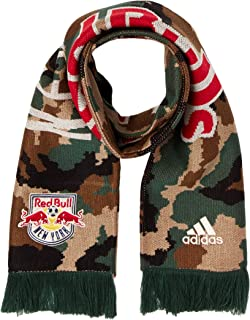 MLS New York Red Bulls Adult Jacquard Scarf, One Size, Camo