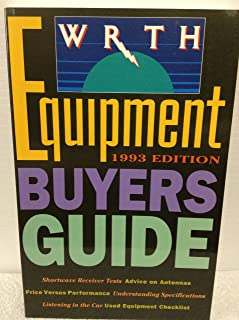 WRTH EQUIPMENT BUYERS GUIDE 1993 (World Radio and Television Handbook Equipment Buyers Guide)