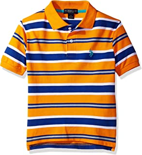 U.S. Polo Assn. Boys' Classic Striped Polo Shirt