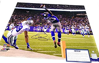 Odell Beckham Jr New York Giants Signed Autograph The Catch 16x20 Photo Photograph Steiner Sports Certified