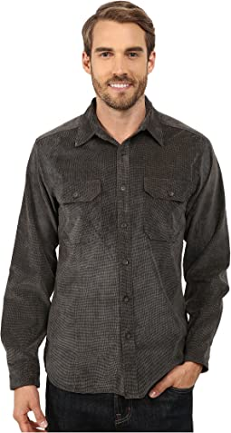 Grid Cord Long Sleeve Shirt