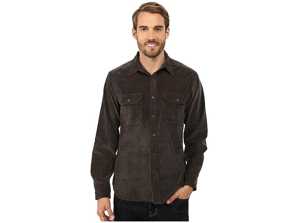 Royal Robbins Grid Cord Long Sleeve Shirt (Petrified Oak) Men
