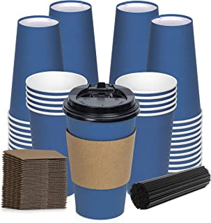 Best paper coffee cups with lids and sleeves Reviews