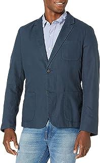 Men's Slim-Fit Linen Blazer