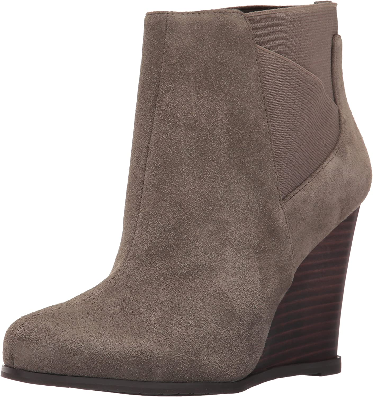 Tahari Women's Ta-Cora Ankle Bootie Brown