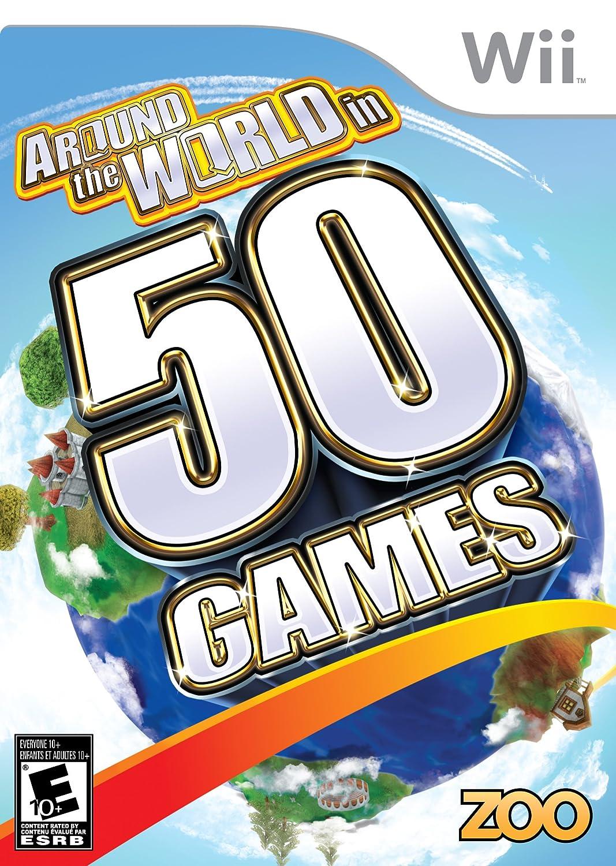 Around The World in 50 Nintendo - Wii Cheap 1 year warranty sale Games