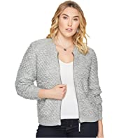 Lucky Brand - Plus Size Sweater Jacket