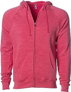 Global Blank Super Soft Fleece Sweatshirt Zip Up Hoodie Men and Women