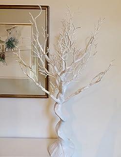 Sintética de boda color blanco Manzanita árbol. Uso en