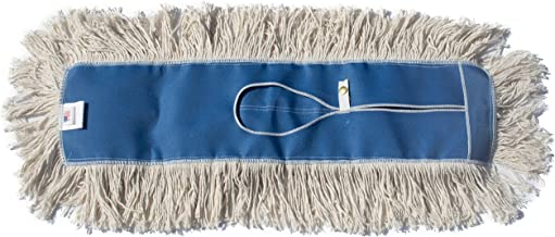Nine Forty Industrial Strength Ultimate Cotton Floor Dust Mop Refill | Commercial Cleaner Mop Head Replacement (1 Pack, 60