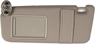 Ezzy Auto Beige Left Driver Side Sun Visor fit for Toyota...