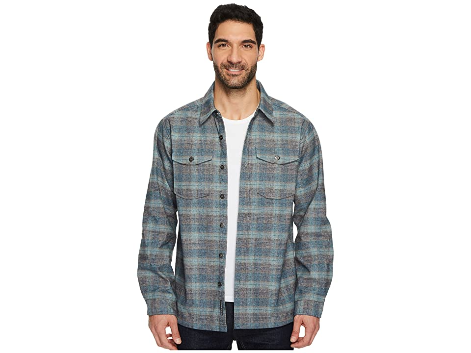 ExOfficio Bruxburn Plaid Long Sleeve Shirt (Navy) Men