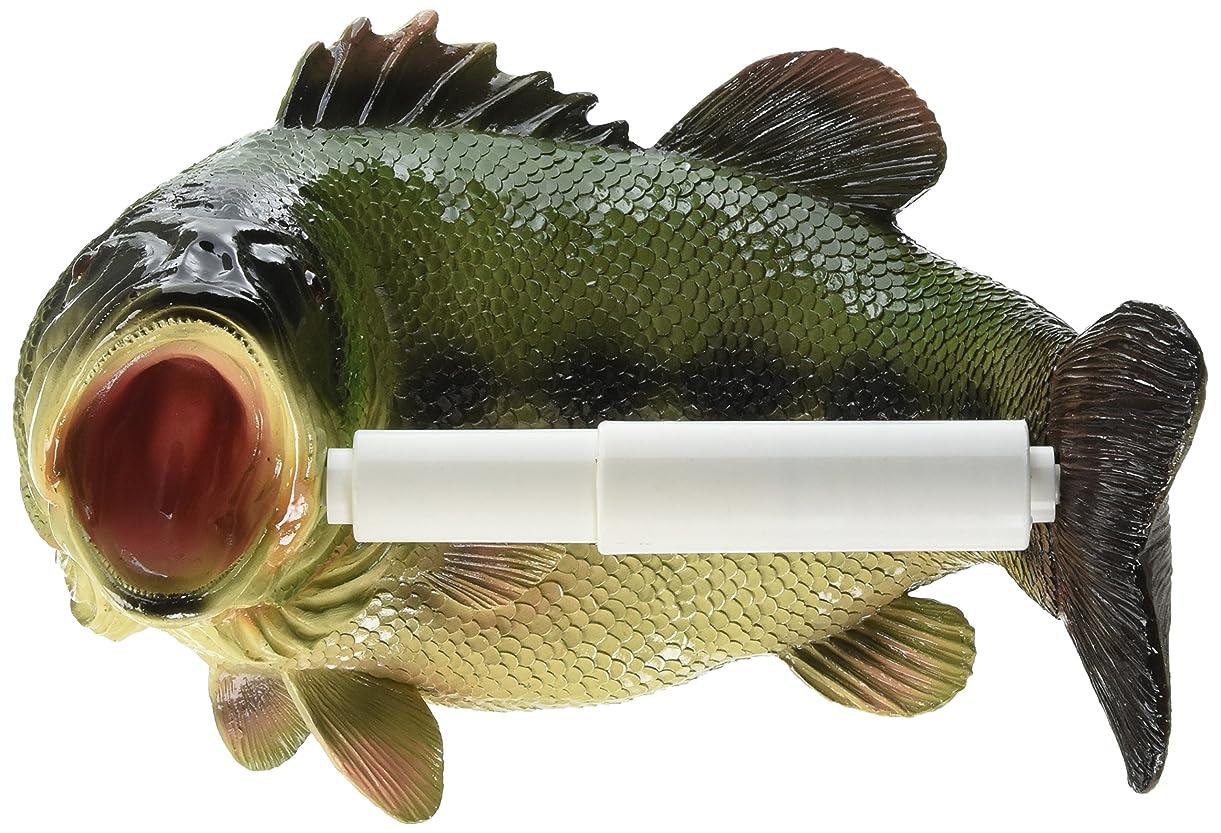 Design Toscano Holder-Reeling Trout Fish Rustic Toilet Paper Roll - Bathroom Wall Decor, Multicolor krqnd7870