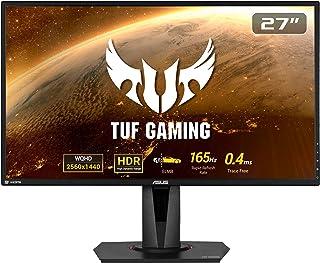 ASUS TUF Gaming VG27BQ 68,58cm (27 Zoll) Monitor (WQHD, HDMI, DisplayPort, 0,4ms Reaktionszeit, 165Hz, HDR10)
