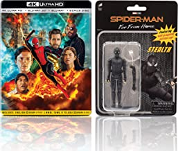 Spider-Man: Far from Home (Steelbook with Stealth Action Figure) (4K UHD + Blu-ray 3D + Blu-ray + Bonus Disc) (4-Disc Box Set)