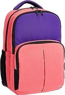 comprar comparacion AmazonBasics - Mochila escolar, rosa