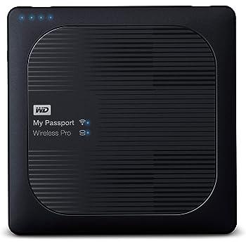 WD My Passport Wireless Pro - Disco Duro Externo portátil de 3 TB ...