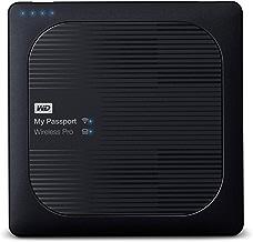 WD My Passport Wireless Pro - Disco Duro Externo portátil de 1 TB con Wi-Fi AC, SD y USB 3.0