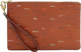 Fossil Wristlet Brown Women's Wallet (SLG1288914)