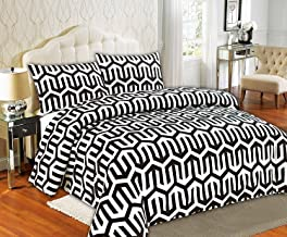 طقم غطاء لحاف فاخر أحادي اللون من تاش هوم فاشون تاش 3 قطع بتصميم كوندو راقي، كاليفورنيا