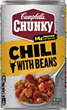 Campbell's Chunky Chili with Beans, 19 Oz. Can (Pack of 12)