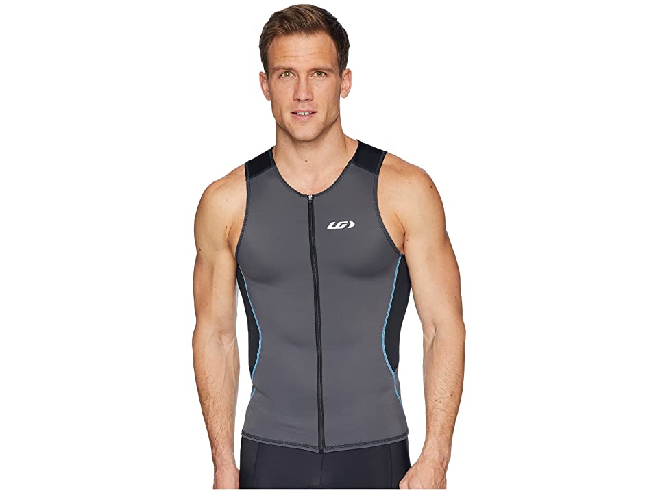 Louis Garneau Tri Comp Sleeveless (Black/Gray/Blue) Men