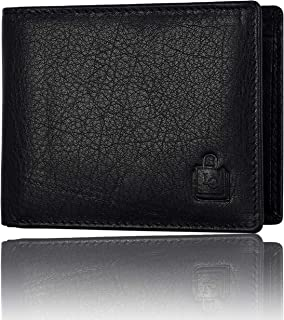 Le Craf Baker Leather Black Men's Wallet