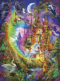 Buffalo Games - Vivid Collection - Enchanted Castle - 1000 Piece Jigsaw Puzzle