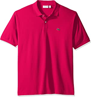 Lacoste Men's Classic Short Sleeve Discontinued L.12.12 Pique Polo Shirt