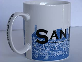 "Starbucks San Francisco ""City By the Bay"" Skyline Series One Barista Mug 2002"