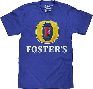 Foster's Lager T-Shirt - Licensed Foster's Logo Beer Shirt