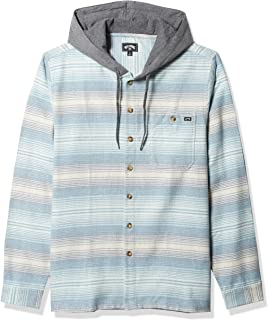 Men's Baja Long Sleeve Flannel Shirt with Hood