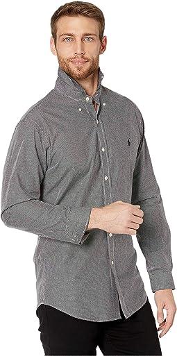 Slim Fit Poplin Sports Shirt