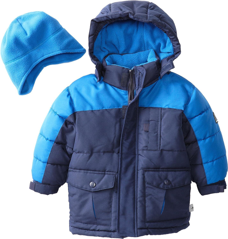 National uniform free shipping San Antonio Mall Rothschild Little Boys' Puffer Two-Tone Jacket