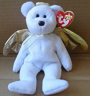 TY Beanie Babies Halo II Angel Bear Plush Toy Stuffed Animal
