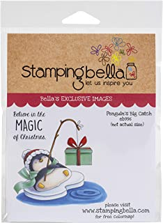Stamping Bella Stamp, Penguins Big Catch, One Size