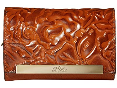 Patricia Nash Cametti Wristlet (Gold) Handbags
