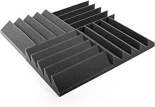 Espuma acústica. Pack de 12 planchas de alta calidad.