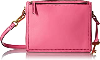 fossil pink leather bag