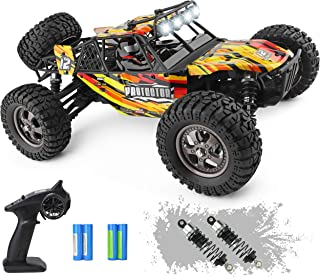 HAIBOXING 12815 RC Car 1:12 Scale 4WD Off-Road Remote Control Truck 38+KM/H High Speed, 2.4 GHz All Terrain Waterproof Radio Controlled Cars with 2 Rechargeable Batteries, RTR Electric RC Trucks Hobby