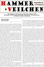 Hammer + Veilchen Nr. 19: Flugschriften für neue Kurzprosa