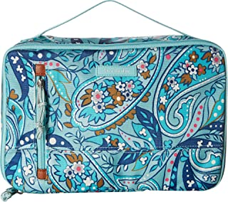 Women's Large Blush & Brush Case Daisy Paisley One Size
