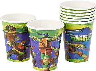 American Greetings, Teenage Mutant Ninja Turtle 9 oz. Paper Cups, 8-Count